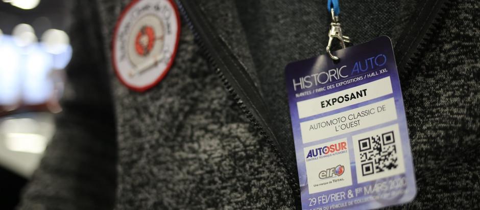 Historic Auto 2020 : pour une première...