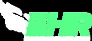 EHR-Swhite half face-whitegreen-outlined