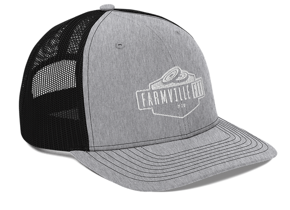 Embroidered Farmville Fit Snapback