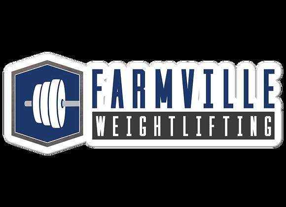 Farmville Weightlifting Sticker