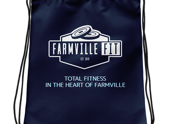 Farmville Fit Total Fitness Drawstring bag