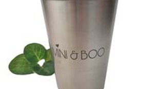 Stainless Steel Drinking Cup - MINI AND BOO