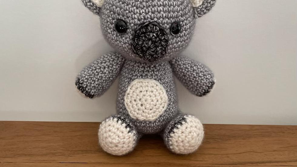 Handmade Crochet Nutsy the Koala