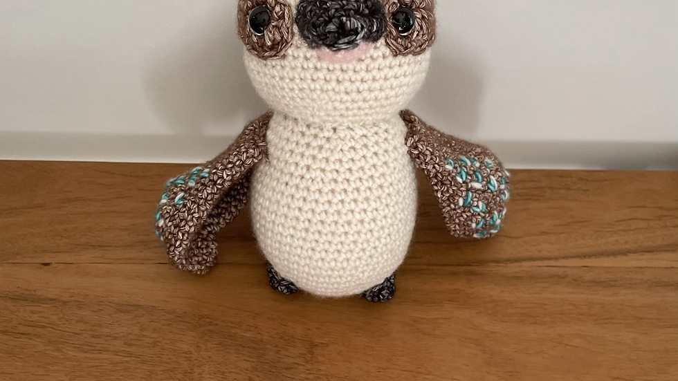 Handmade Crochet Kevin the Kookaburra