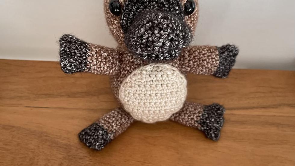 Handmade Crochet Penny the Platypus