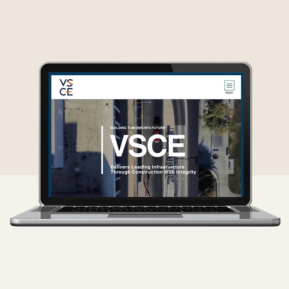 BrandifyHQ.com   Custom website design for VSCE Inc.com