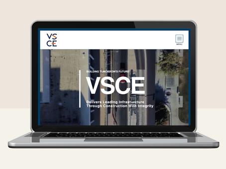 New modern & sleek website design for VSCE, Inc.