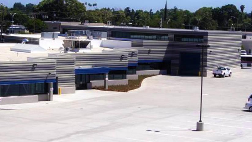 Modesto Bus Maintenance Facility