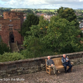 Travel Notes on BANS Autumn Weekend in Shrewsbury, 8-10 Sep. 2017