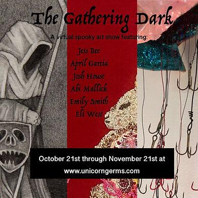 The Gathering Dark virtual art show