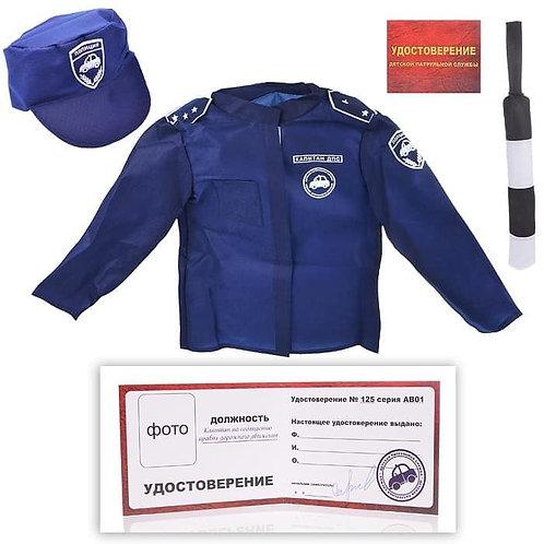 56-550 Набор ДПС 1 (куртка.кепка.жезл.удостоверение)