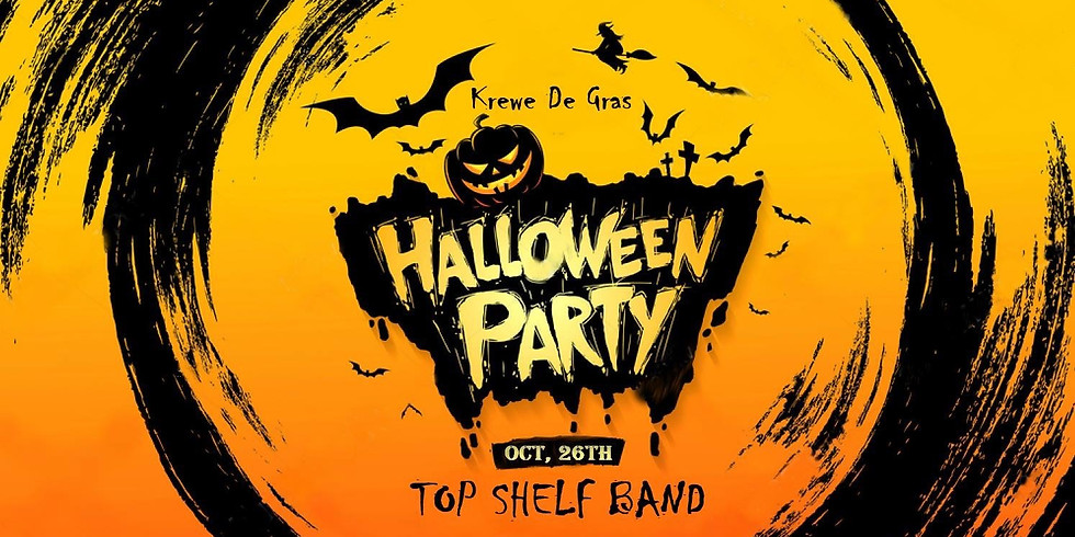 10th Annual Halloween Party at Krewe De Gras!