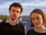 George Barton and Siwan Rhys, piano and percussion duo, in Homerton © dejan mrdja