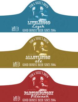 Beer label design - fundraiser