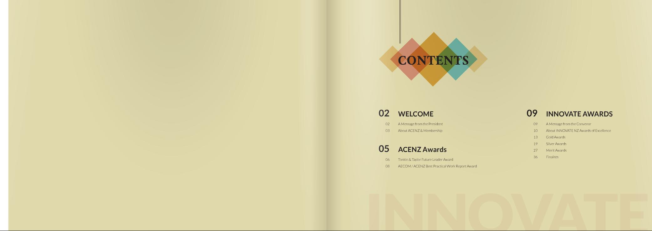 award mag contents