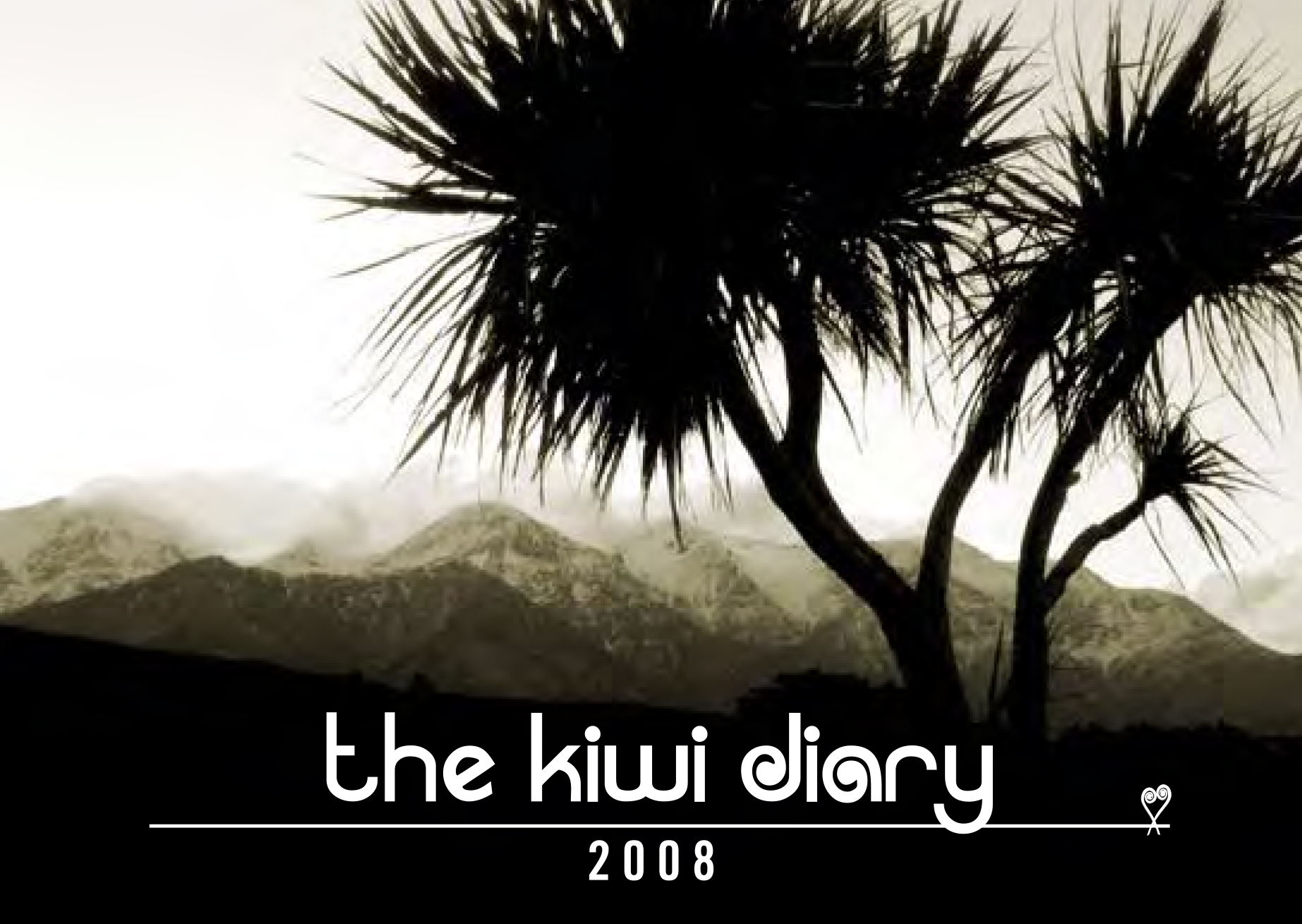Cover design - Kiwi Diary 2008