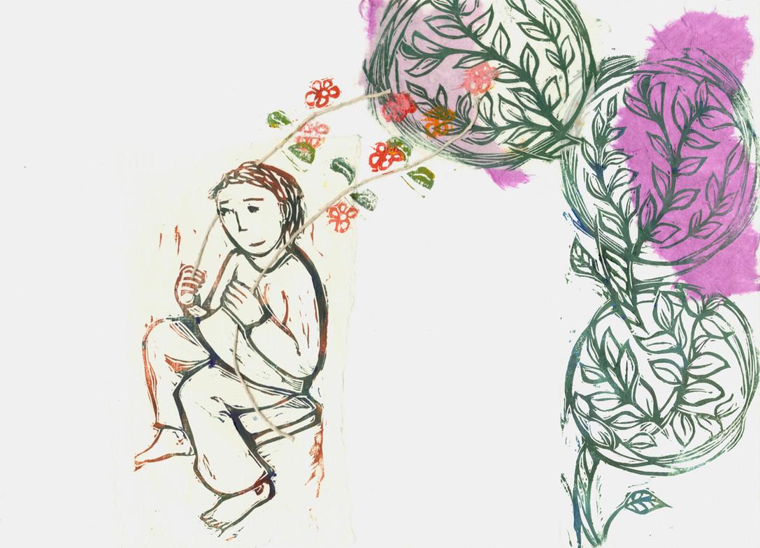 fiori e sassolini 8