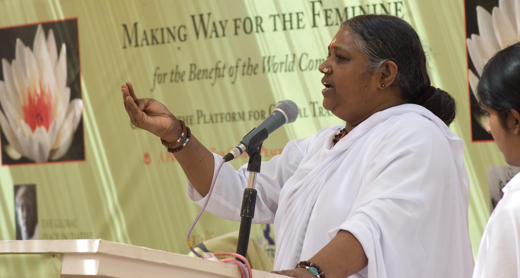 Woman Summit Ansprache