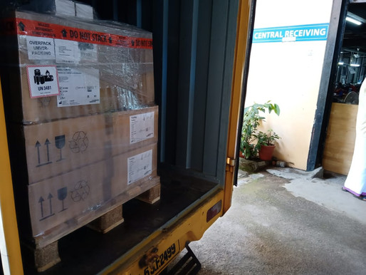 Spendenaktion Covid-19 Die ersten Geräte sind in Indien angekommen!