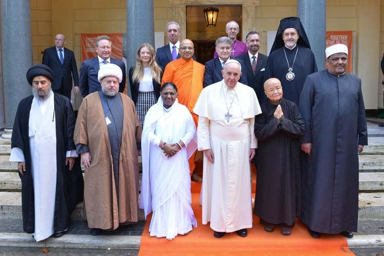 mit Papst Franziskus in Rom