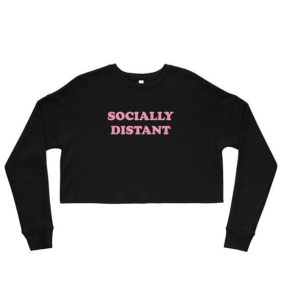 Socially Distant Crop Sweatshirt
