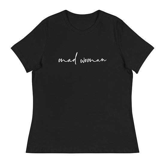 Mad Woman Relaxed T-Shirt