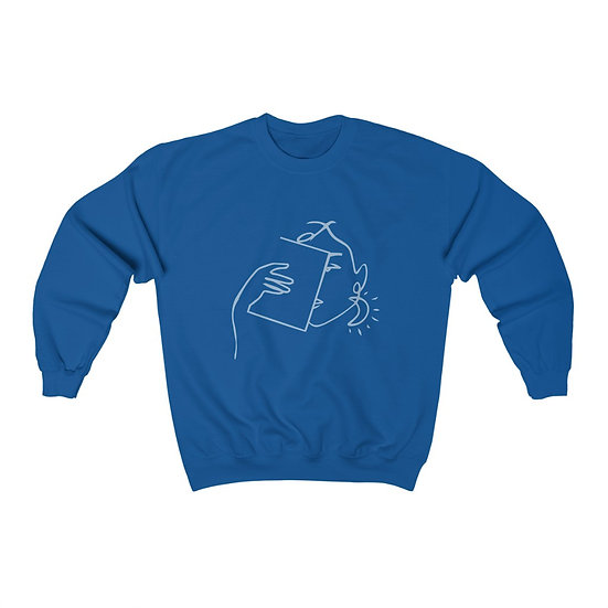Resting Bookish Face™ Crewneck Sweatshirt