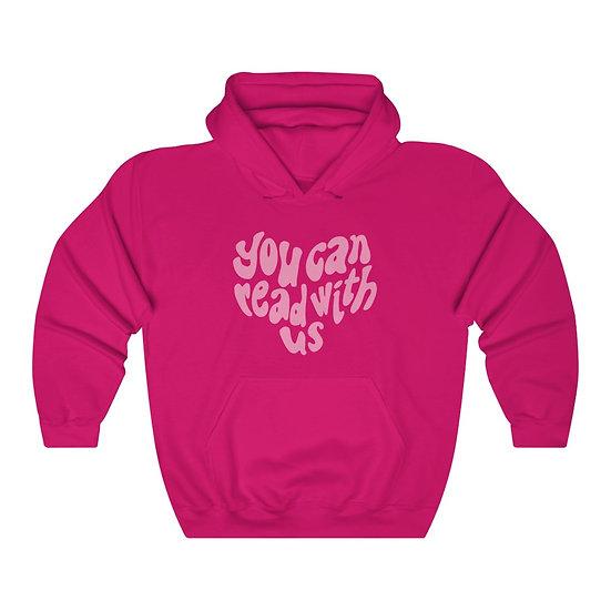 Read With Us Unisex Heavy Blend™ Hooded Sweatshirt