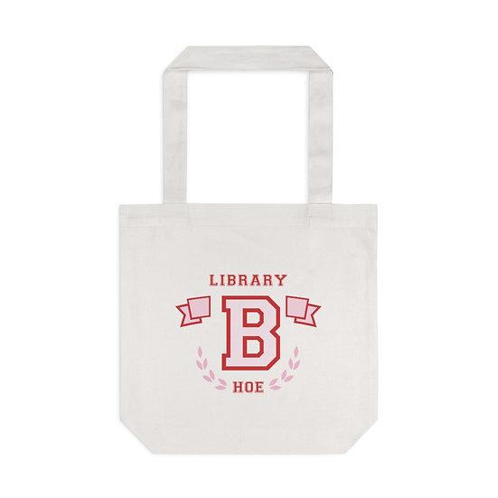 Varsity Hoe Tote Bag