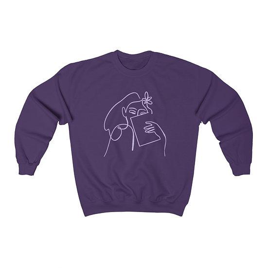 Resting Book Face™ Crewneck Sweatshirt