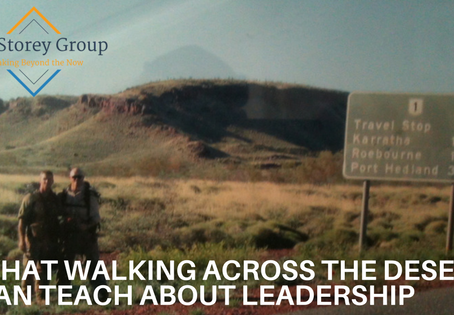 What Walking Across the Desert can Teach about Leadership