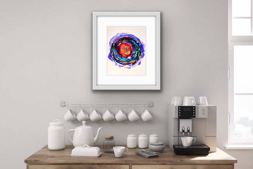 The Mandala Series is selling fast! These look great framed in small spaces in your home.
