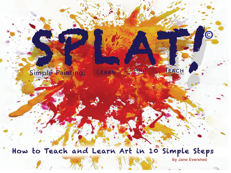 SPLAT! Once you learn the basics of art there is a magic trick that can take you ahead of your game