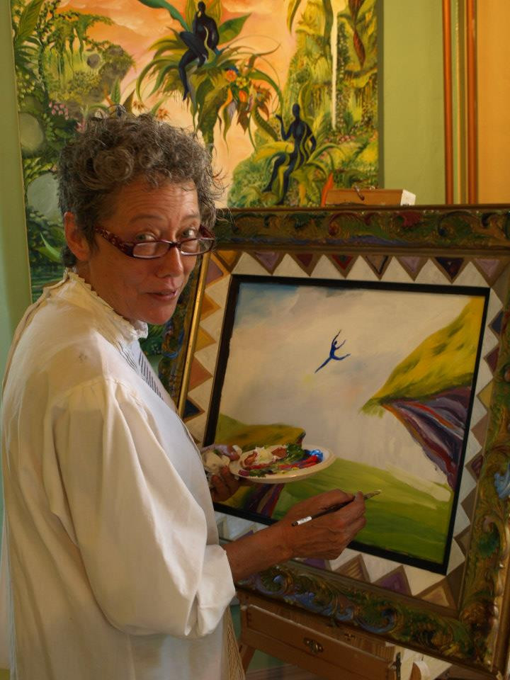 Jane Evershed Painting