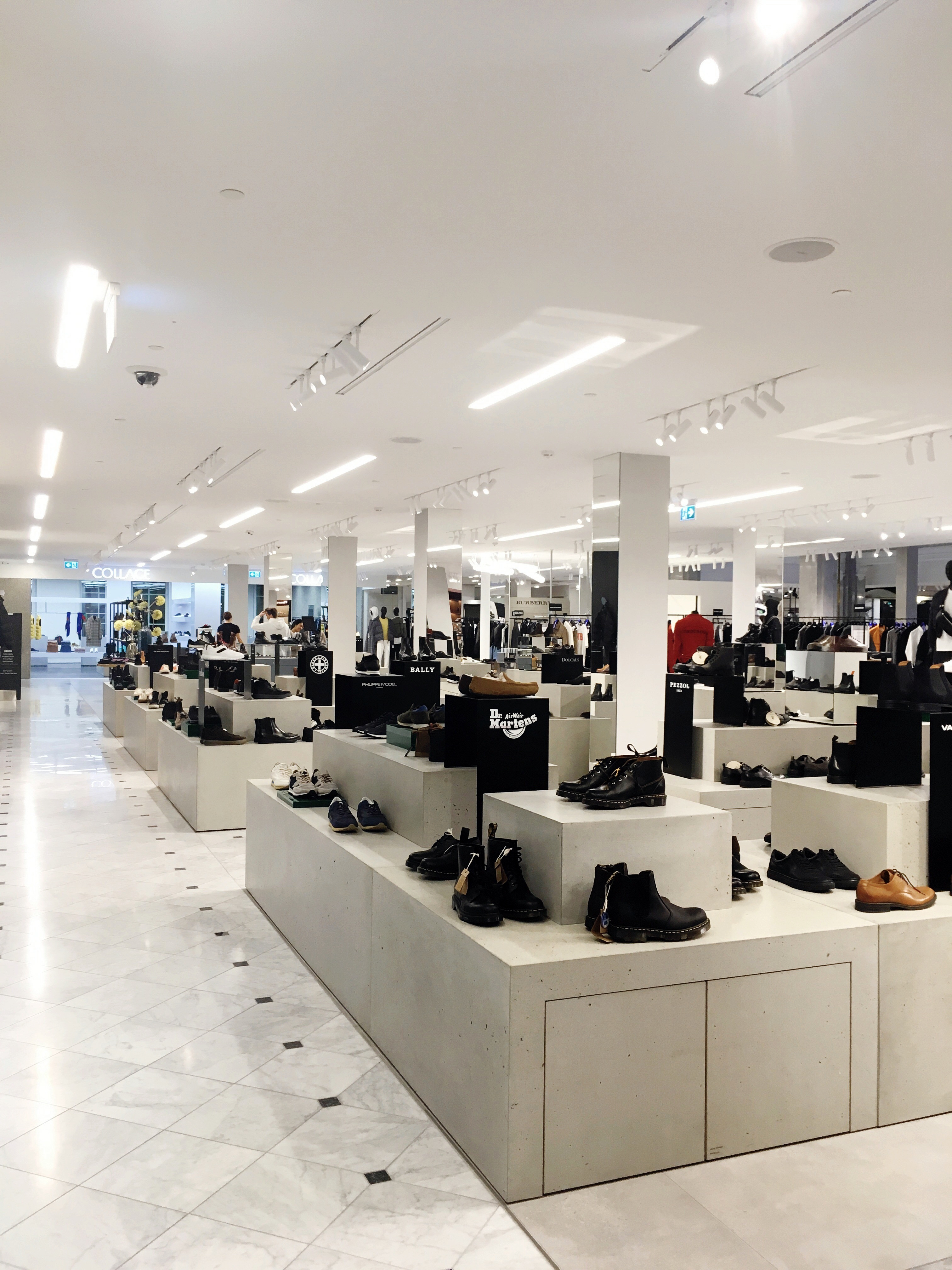 New Mens Shoe dept. in ILLUM CPH
