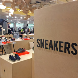 Sneakers shop and Atheisure dept.