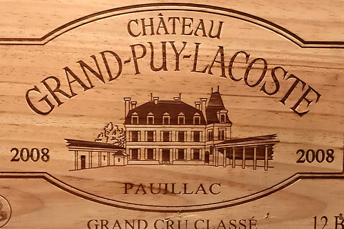 Chateau Grand Puy Lacoste 2008
