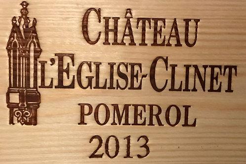 Chateau L'Eglise Clinet 2013
