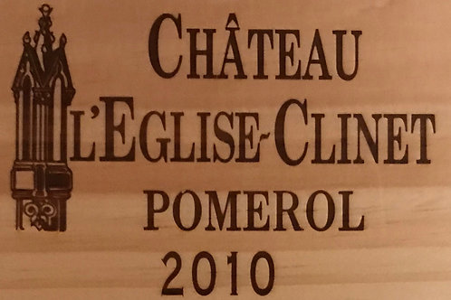 Chateau L'Eglise Clinet 2010