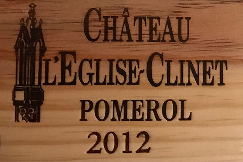 Chateau L'Eglise Clinet 2012