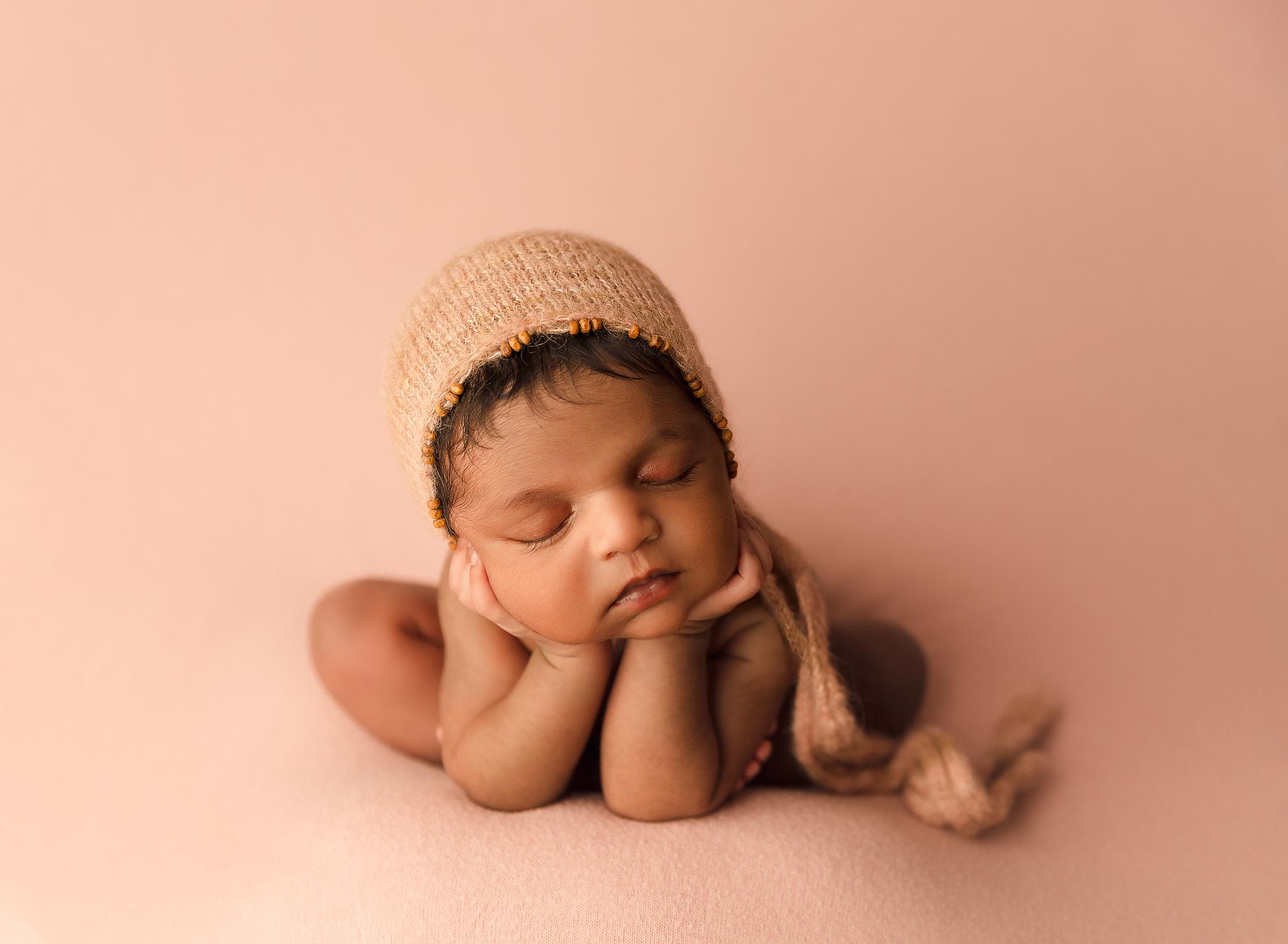 newborn baby girl photography photo