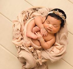 baby girl photograph