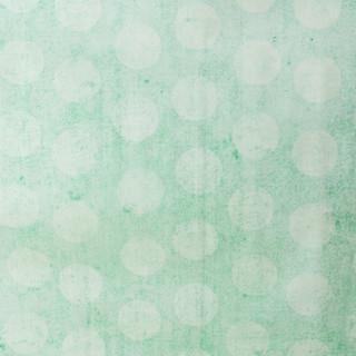 Seafoam Green Polka Dot