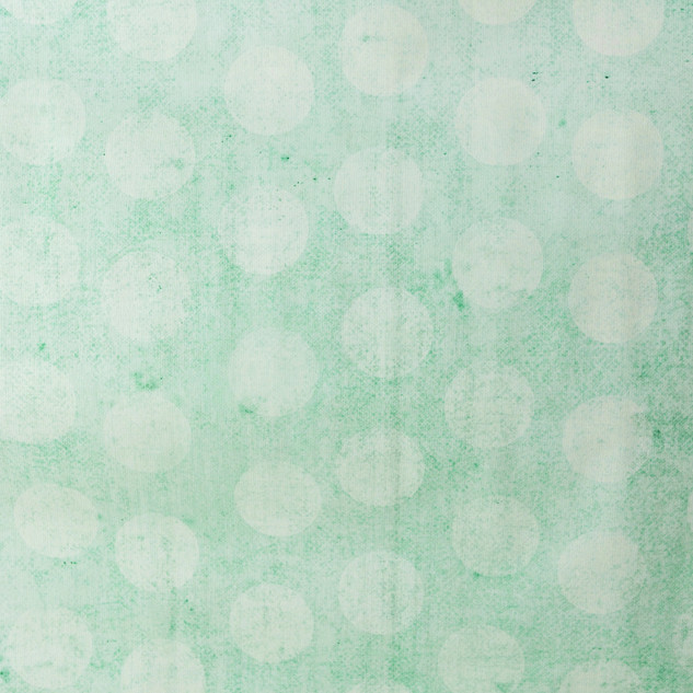 Seafoam Green Polka Dot