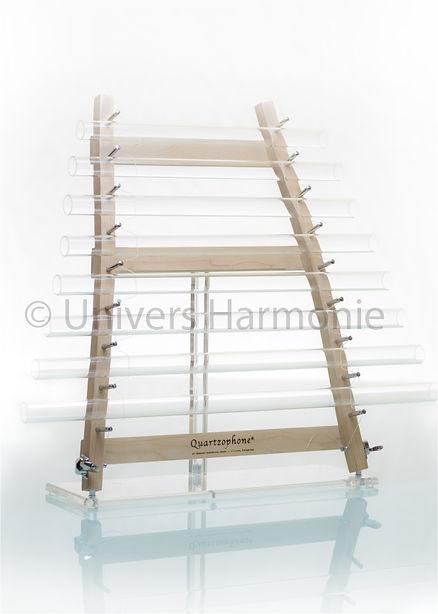 Quartzophone H2 Harpe de Cristal et bois d'érable