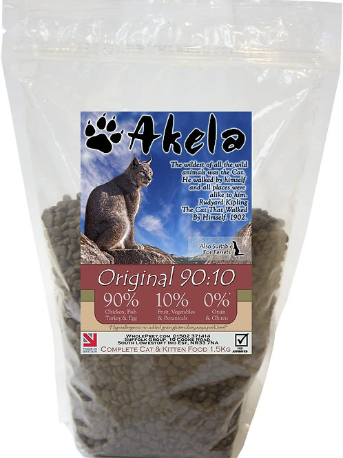 Akela Cat Food Grain-Free Original 90:10