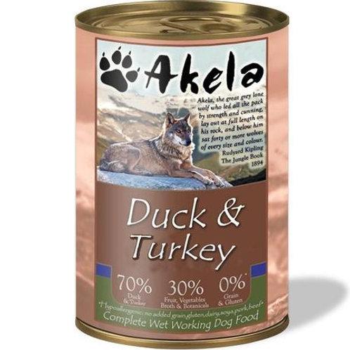 Akela Duck & Turkey (400g)