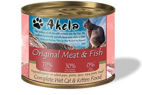 Akela Grain-Free Complete Wet Cat Food Original 70:30 200g