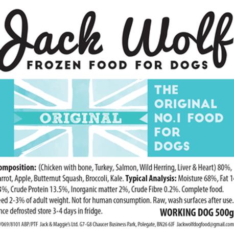 Jack Wolf Working Dog Original (500g)