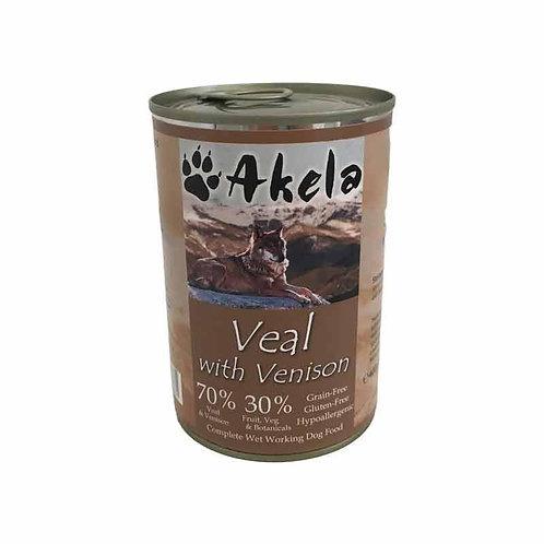 Akela Veal & Venison (400g)